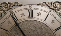 Westminster Chime Mahogany Grandmother Clock (8 of 12)