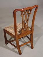 Attractive Early 20th Century Set of 7 '6+1' Chippendale Style Mahogany Framed Chairs (3 of 7)