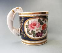 Fine Staffordshire Mug with Greyhound Handle c.1820 (2 of 5)