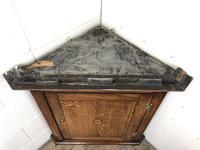 Antique Georgian Oak Hanging Corner Cupboard (2 of 12)