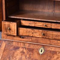 George I Walnut Bureau Bookcase c.1724 (9 of 19)