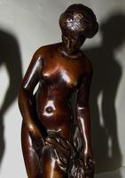 Pair of Victorian Bronzes - Diana Bathing (6 of 9)
