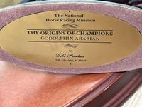"""Set 3 Small Solid Bronze Horse Racing """"The Origins of Champions"""" by Gill Parker (43 of 45)"""