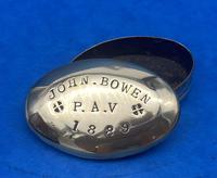 19th Century Brass Minors Tobacco Tin (5 of 12)