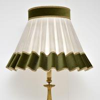 Antique Neoclassical French  Gilt Brass Floor Lamp (9 of 10)