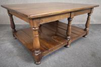Solid Oak Rectangular Coffee Table (11 of 11)
