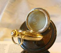 Antique Pocket Watch 1909 Waltham USA 7 Jewel 10ct Gold Filled Fwo (10 of 11)