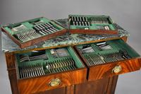 Antique Mahogany Cutlery Cabinet (9 of 16)