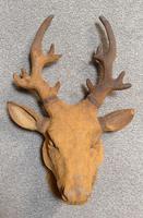 Cast Iron Stags Head, Cast Iron Garden Ornament (7 of 7)