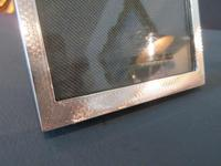 George V Period Silver Engraved Photo Frame (2 of 7)