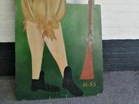 Dummy Board of Soldier in 17th Century Uniform (7 of 10)