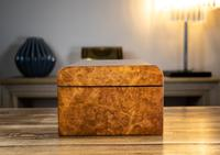 Burr Walnut Ladies/Jewellery Box 1870 (3 of 9)