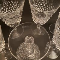 Eight Waterford 'Alana' Claret Glasses (3 of 3)