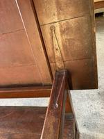 19th Century Pine & Oak Monk's Bench / Work Table (5 of 10)