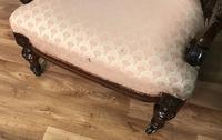 Victorian Burr Walnut & Inlaid Salon Suite (30 of 38)