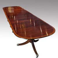 George V  Mahogany Dining Table 4m (7 of 13)