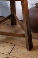 Late 18th Century Oak Cricket Table (5 of 20)