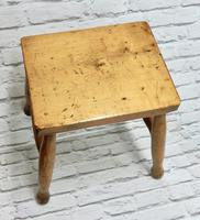 Antique Country Stool - Ash & Sycamore (4 of 5)