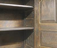 18th Century Oak Hanging Mural Cupboard. North Wales c.1760 (4 of 9)