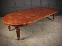 Rare & Exceptional Victorian Pollard Oak Extending Dining Table (5 of 15)