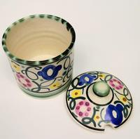 Honiton Pottery Jar 'Sweet Pea' 1930s (5 of 6)
