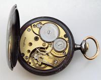 An Antique Gun Metal Omega Pocket Watch 1914 (5 of 5)