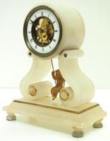Rare Antique French Farcot Mantel Clock 8-Day Swinging Cherub Mantel Clock (6 of 11)