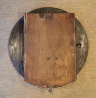 Large Oak Factory Wall Dial Clock (7 of 8)