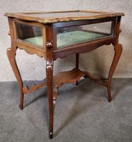 Edwardian Mahogany Bijouterie Table / Display Table (10 of 10)