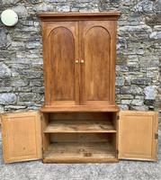 Antique Victorian Pine Shelved Larder Cupboard (13 of 19)