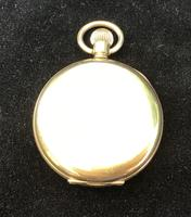 Watch Pocket Half Hunter Gold Plated (2 of 6)