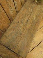 Antique Elm Tavern Bench Settle, Rustic Hall Seat (19 of 19)