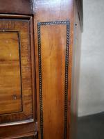Edwardian Inlaid Satinwood Bow Fronted Chest of Drawers (5 of 9)