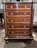 Fine Quality Brass Inlaid Commode (2 of 8)