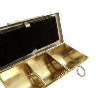Antique Victorian Sterling Silver Stamp Case 1900 (8 of 9)