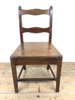 Four 19th Century Oak Farmhouse Chairs (16 of 17)
