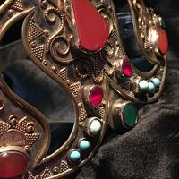 Stunning Headdress Set with Real Gemstones (4 of 8)