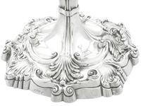 Sterling Silver Candlesticks by Robert Garrard II - Antique George IV 1829 (8 of 18)
