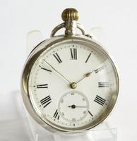 Antique Silver Phoenix Indestructible Pocket Watch (2 of 5)