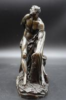 Late 19th Century Bronze of Milo of Croton by Puget (3 of 5)