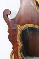 Georgian Mahogany Chippendale Fretwork Mirror (9 of 13)