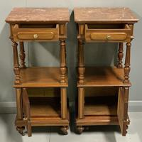 Pair of French Walnut Bedside Cabinets (5 of 8)