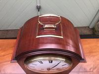 Edwardian Inlaid Mahogany Bracket Clock (4 of 11)