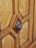 Antique Victorian Golden Oak Open Bookcase (15 of 20)
