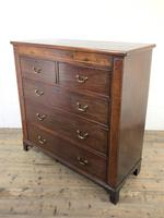 Large 19th Century Inlaid Mahogany Chest of Drawers (9 of 12)