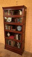 Bookcase from Globe Wernicke Called Stacking Bookcase in Mahogany-5 Elements (8 of 10)