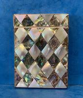 Victorian Abalone & Mother of Pearl Card Case