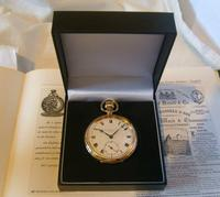 Antique Pocket Watch 1920 Thomas Russell 15 Jewel 10ct Rose Gold Filled Case Fwo (12 of 12)
