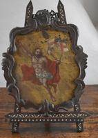 17th Century Christ Ascending Plaque Italian / French (4 of 8)