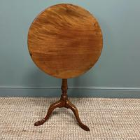 George III Mahogany Antique Occasional Table / Lamp Table (5 of 6)